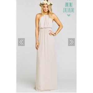 Show Me Your Mumu Amanda Maxi Dress - Crisp XS